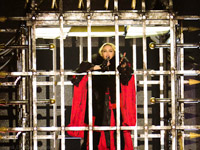 you can't cage Madge