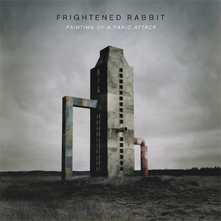 Frightened Rabbit : Painting of a Panic Attack