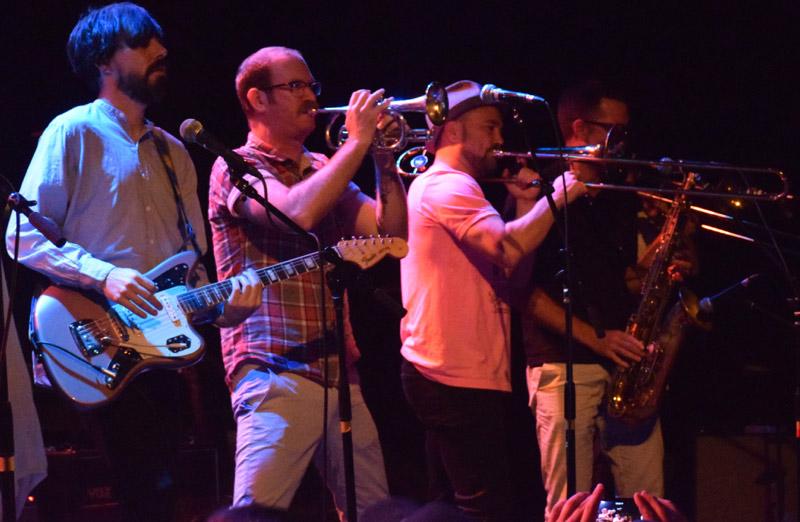 Goldberg & horn section