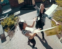 "Matt & Kim – ""Let's Run Away"""