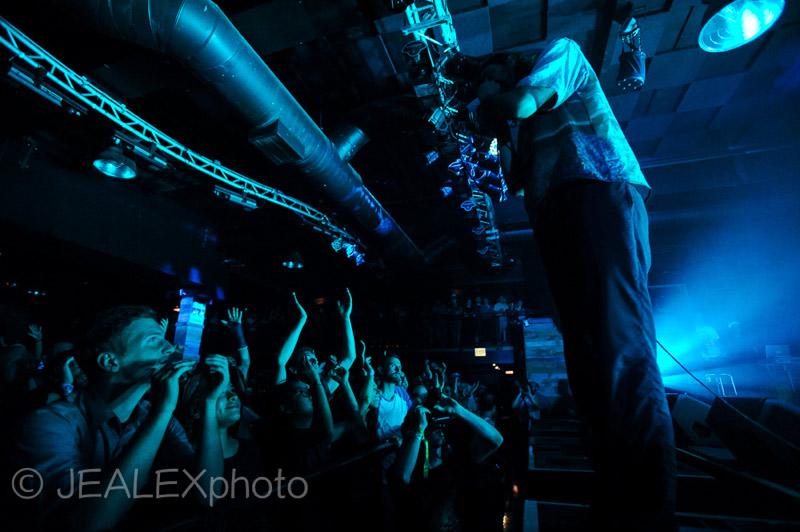 Andrew Wyatt & crowd