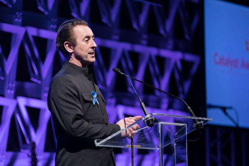 host Alan Cumming