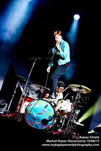 Wilson on drum