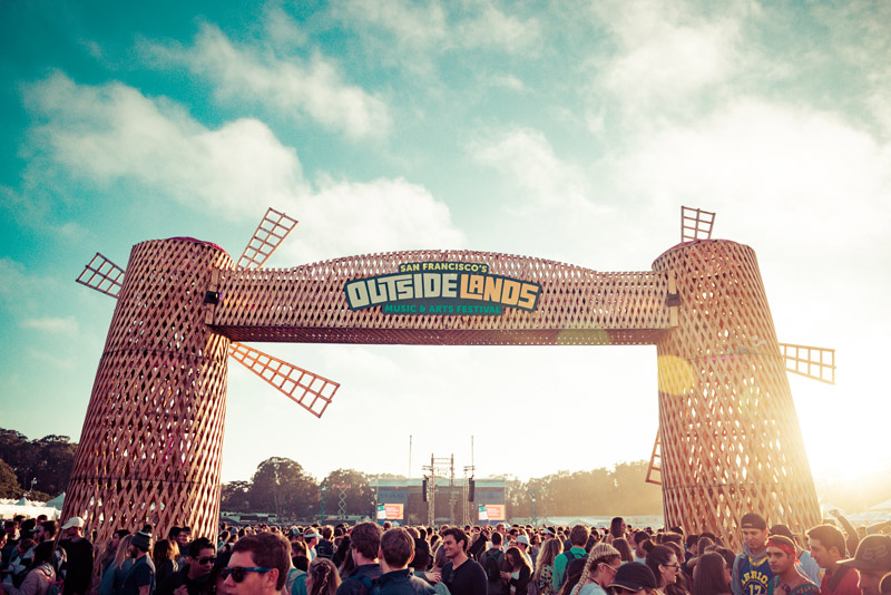Outside Lands - photo by Andrew Jorgensen