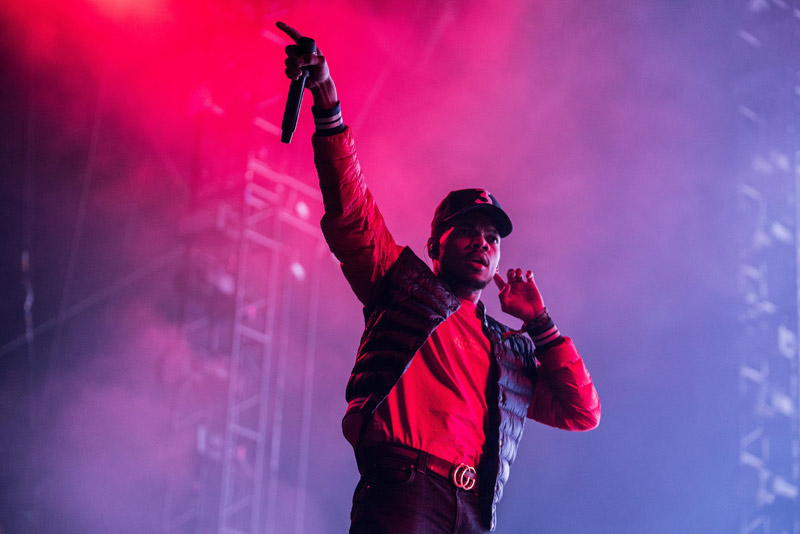 Chance the Rapper - photo by Ben Esakof