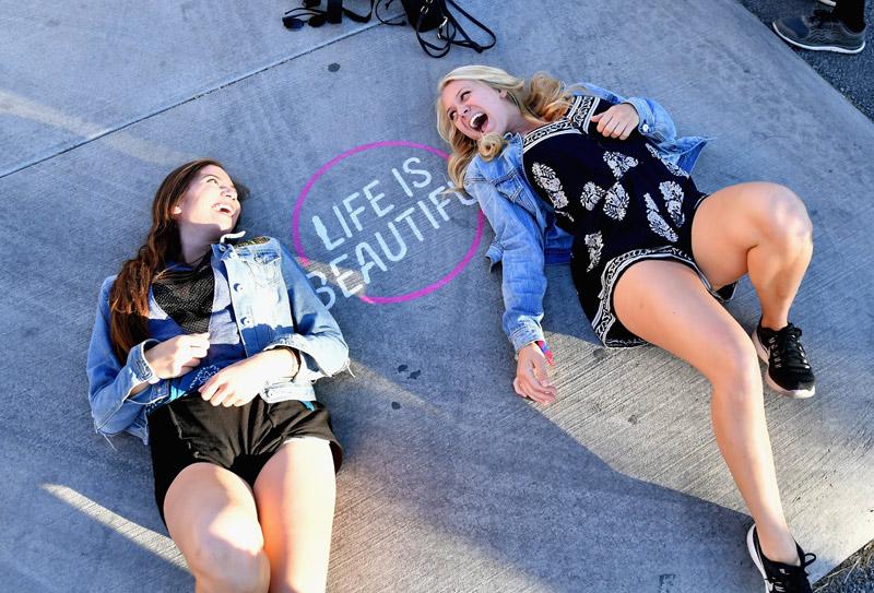 Life Is Beautiful - photo by Jeff Kravitz