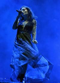 Lorde - photo by Jeff Kravitz