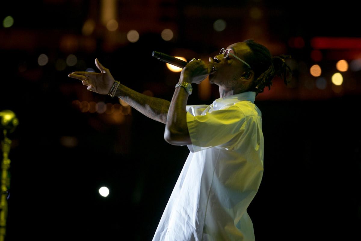 Wiz Khalifa - photo by Paul Citone