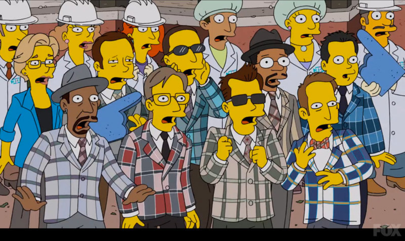 The Mighty Mighty Bosstones on The Simpsons