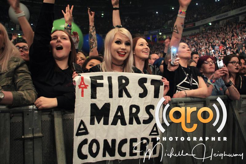first Mars concert