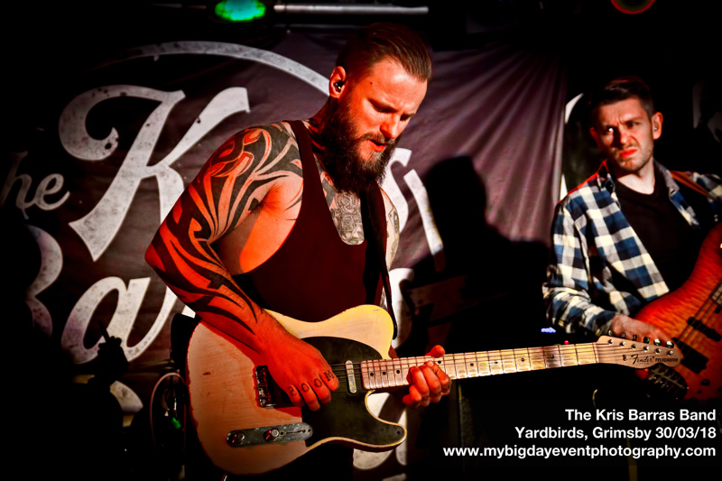 Kris Barras Band : Live