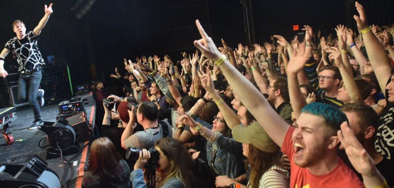 Matt & crowd