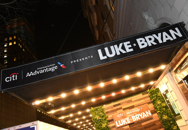 Luke Bryan - Live for Citi / AAdvantage