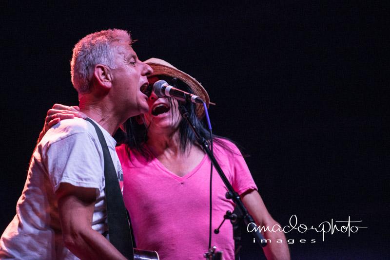 Robbie Grey with Jay Aston