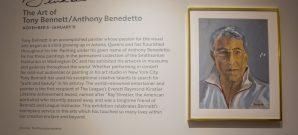 Tony Bennett Art Exhibit