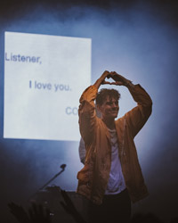 Listener, I love you. COIN