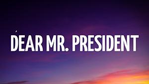Kiana Lede - Dear Mr. President