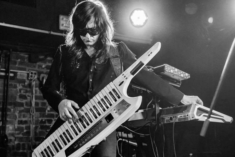 Matt Katz-Bohen on keytar