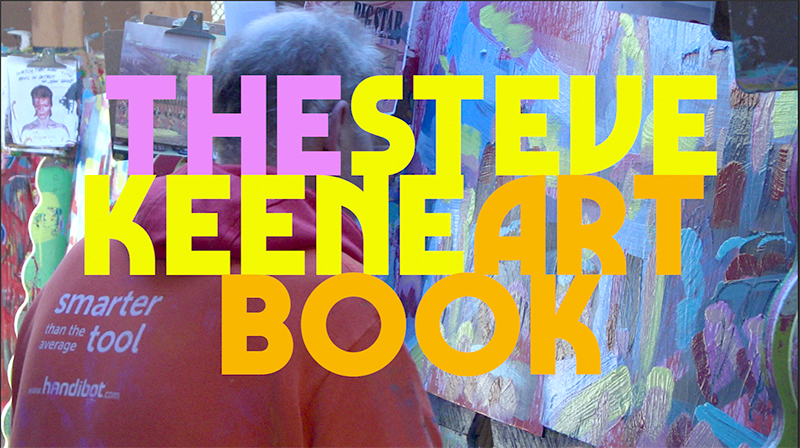 The Steve Keene Art Book