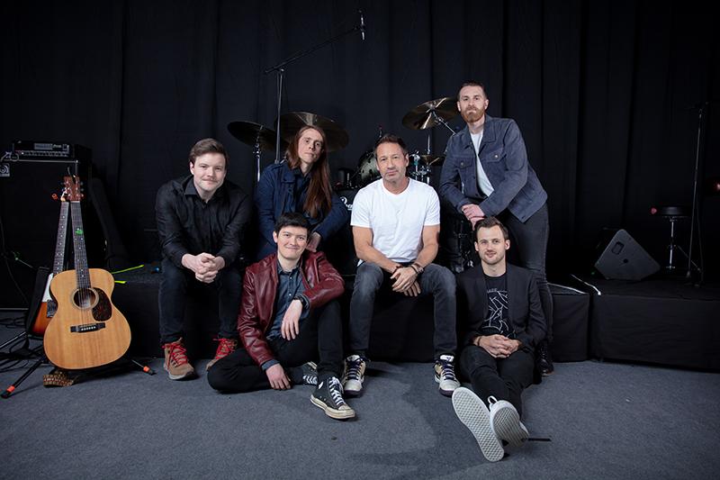David Duchovny & band
