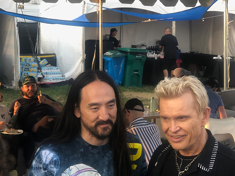 Steve Aoki & Billy Idol
