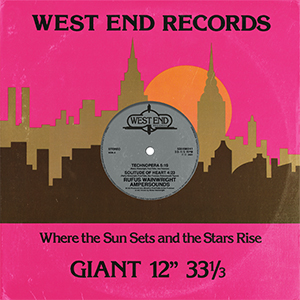 Ampersounds & Rufus Wainwright - West End EP