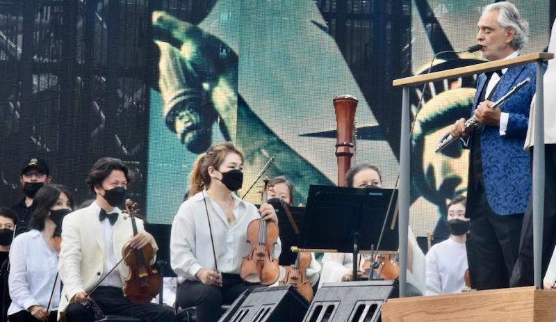 Andrea Bocelli with NY Philharmonic