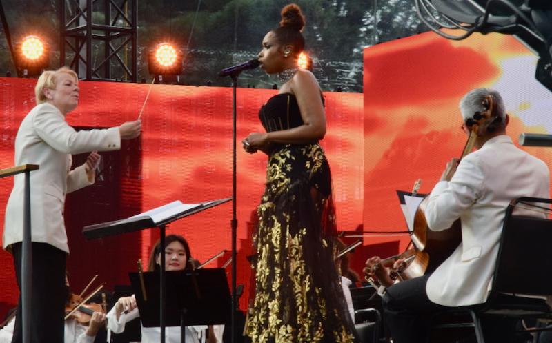 Jennifer Hudson with NY Philharmonic